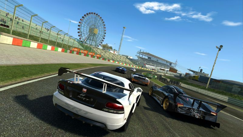 EA Announces Real Racing 3 is Now Available Across Mobile Platforms (IOS, MOB) - rr3 launchscreenshots iphone5 suzuka