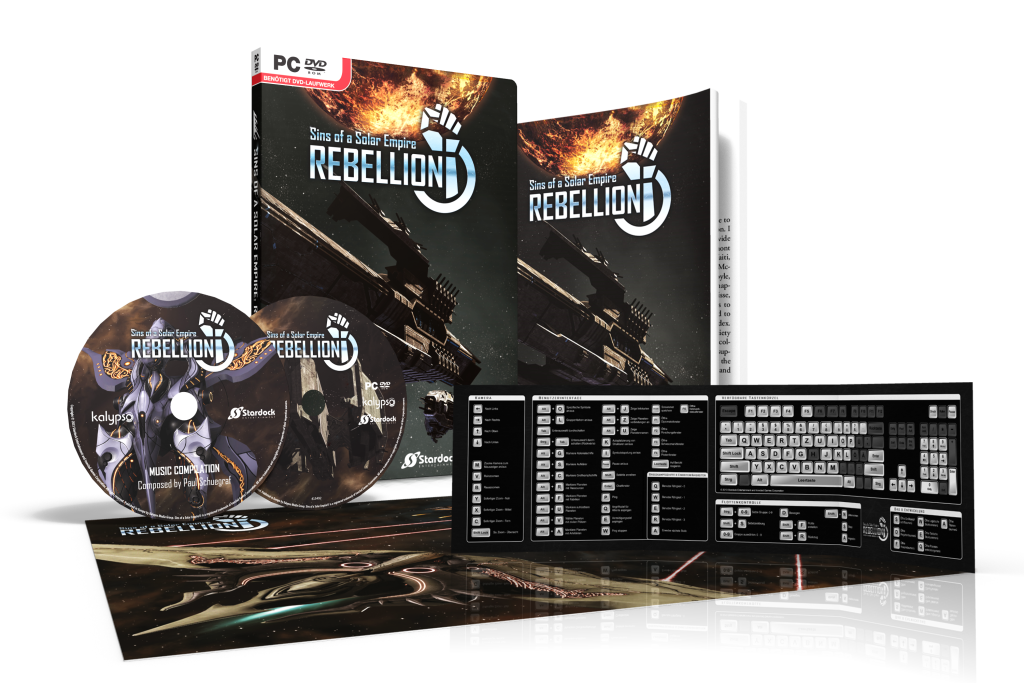 Exclusive In-Box Content for Sins of a Solar Empire®: Rebellion - sins ausstattung de