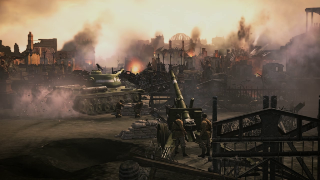 New Company of Heroes 2 Trailer - Above the Battlefield - vlcsnap 2013 05 29 11h05m32s126