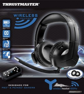 Thrustmaster Wireless Gaming Headsets: Get skilled™! Experience Our Powerful and Expanding Range of Products!