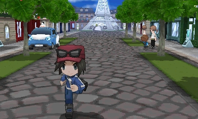 Gotta catch 'em all...again in 'Pokemon X & Y' this October - Boy Trainer running screenshot