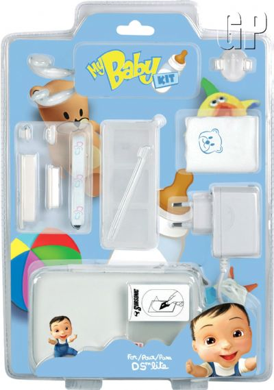 """The must have accessory kit for """"My Baby"""" fans! (DS) - 1159 subsonic ds lite my baby kit blue"""