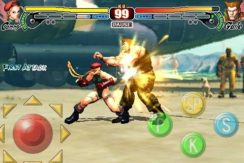 Update for iPhone 'Street Figther IV' available, with added Cammy and Zangief! (OTHER) - 2934 SF