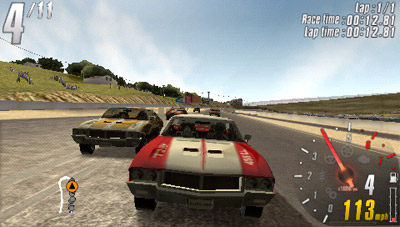 Turbo charge your PSP with the TOCA Race Driver 3 Challenge demo ? now available to download. (PSP) - 36 Muscle 1