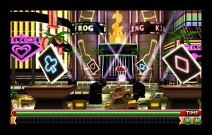 Frogger hops into 3D (3DS)