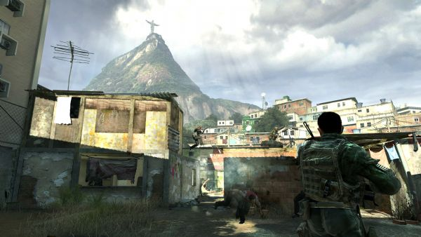 Call of Duty: Modern Warfare 2 Review (360, PC, PS3) - 743 Favela Shootout