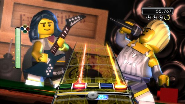 Lego Rock Band Review (360) - 755 LRB3