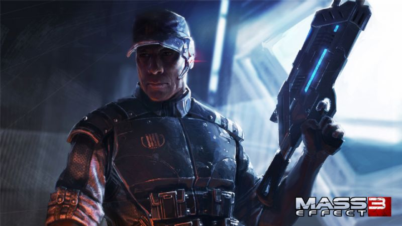 Earth defending cast of 'Mass Effect 3' revealed (360, PS3) - anderson