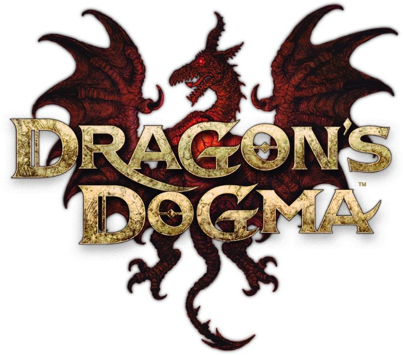 'Dragon's Dogma' arriving at our shores bundled with 'Resident Evil 6' demo (360, PS3) - dragon s dogma logo   stacked