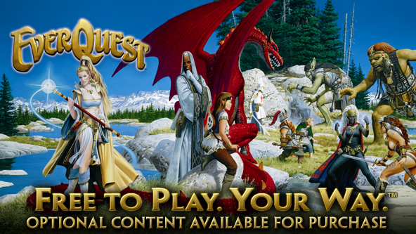 Good News For MMO Fans - EverQuest Goes Free to Play This March! (PC) -