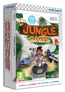 Jungle Kartz – Race to be the King of the Jungle (WII)