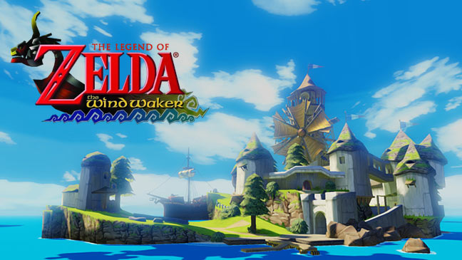 October release for The Wind Waker on Wii U - wind waker hd banner