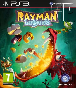 Rayman Legends out Friday. Ben having mini excitement fit.