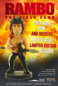 RAMBO ® THE VIDEO GAME – TWO LIMITED-EDITION FIGURINES OFFERED AS PRE-ORDER INCENTIVES