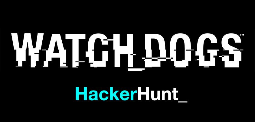 Watch_Dogs Hacker Hunt on WeareData.Watchdogs.com - WD HackerHunt Logo
