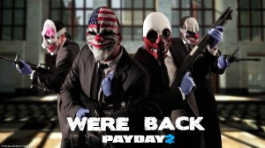 PayDay 2 robs Minecraft, going straight in at one!