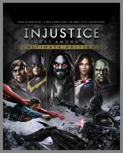Injustice: Gods Among Us Ultimate Edition for PlayStation®4, PlayStation®Vita, PlayStation®3, Xbox 360 and PC