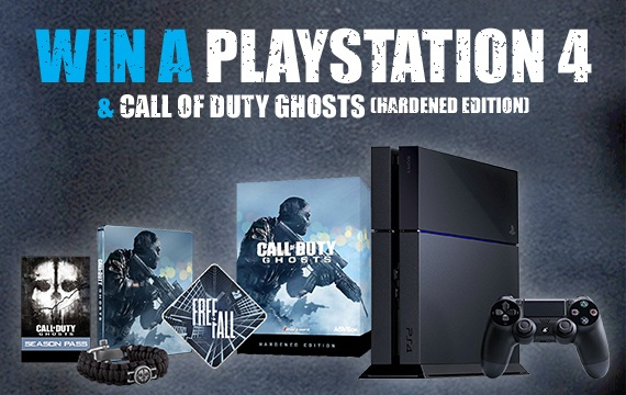 Win a Playstation 4 with MusicMagpie - comp call of duty