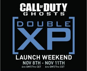 Rank Up With Call of Duty: Ghosts Double XP Launch Weekend