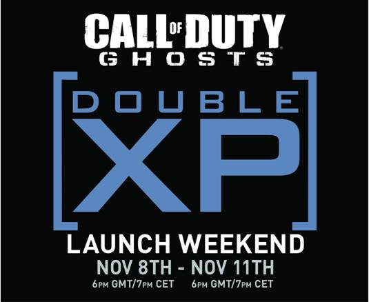 Rank Up With Call of Duty: Ghosts Double XP Launch Weekend - image0011