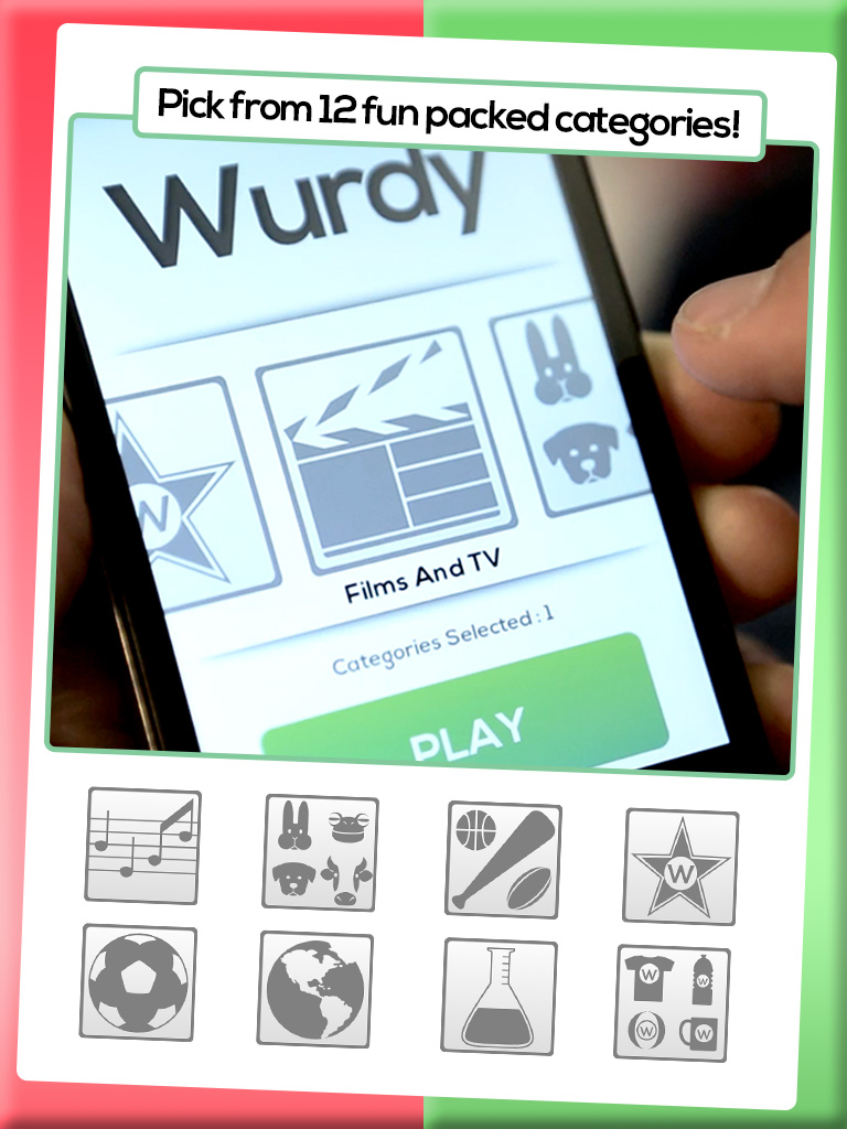 60 seconds. A group of friends. A list of words. No rhyming & no miming! - wurdy 1