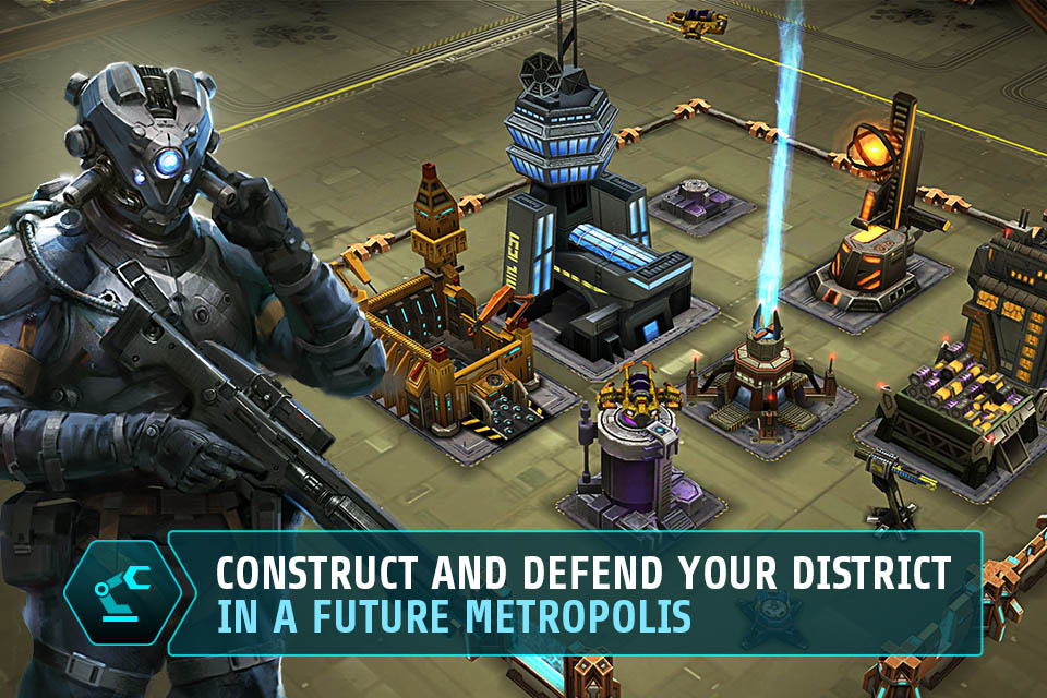 Dark District for iPhone, iPad and iPod touch - DarkDistrict v1 iPhone 03 EN 1386843951