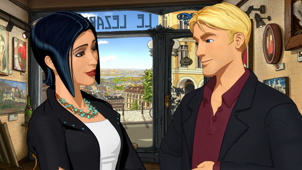 Broken Sword 5 – The Serpent's Curse Episode One now available on Steam and GOG.com - Intro Geroge Nico