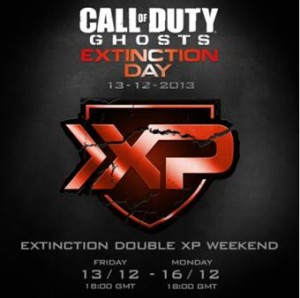 Extinction Day Double XP