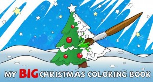 Have fun and get creative with 'My Big Christmas Coloring Book'