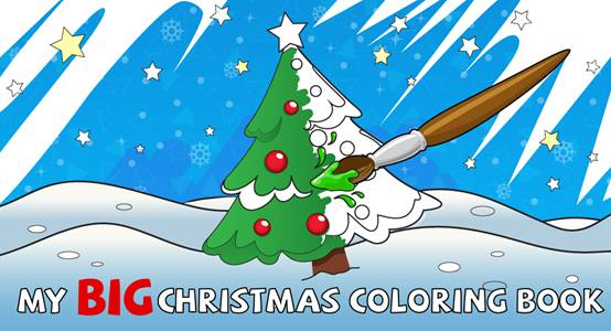 Have fun and get creative with 'My Big Christmas Coloring Book' - image004
