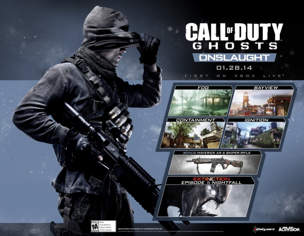 Call of Duty Onslaught is Here! - COD Ghosts DLC Onslaught Key Art 13899569041