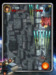 LEGO® Star Wars™: Microfighters for iOS now available