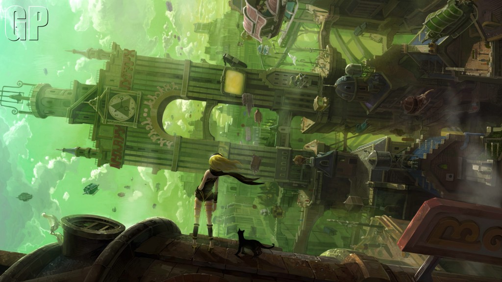 Gravity Rush Review  - 11551Key visual