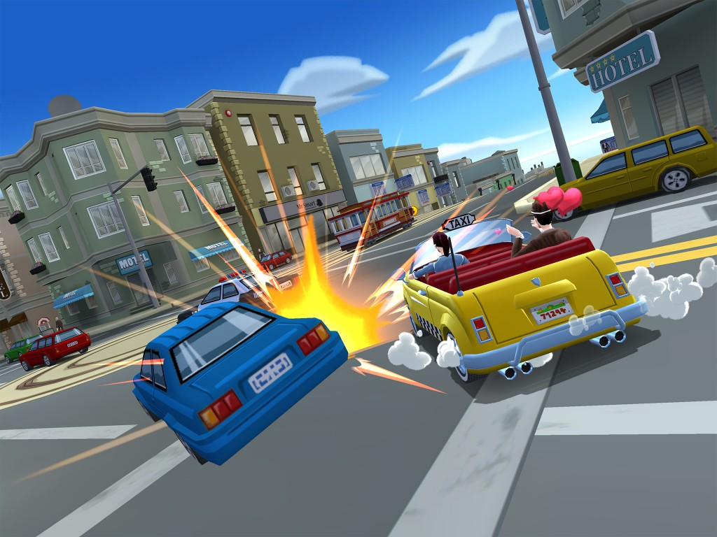 SEGA TAKES TO THE STREETS IN CRAZY TAXI: CITY RUSH - Crazy Taxi City Rush 03 1394730217