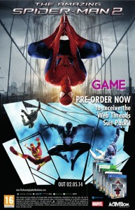 The Amazing Spider-Man 2 Pre Order Bonus