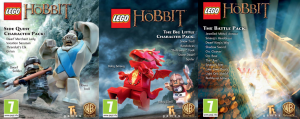 LEGO The Hobbit adds three new DLC packs