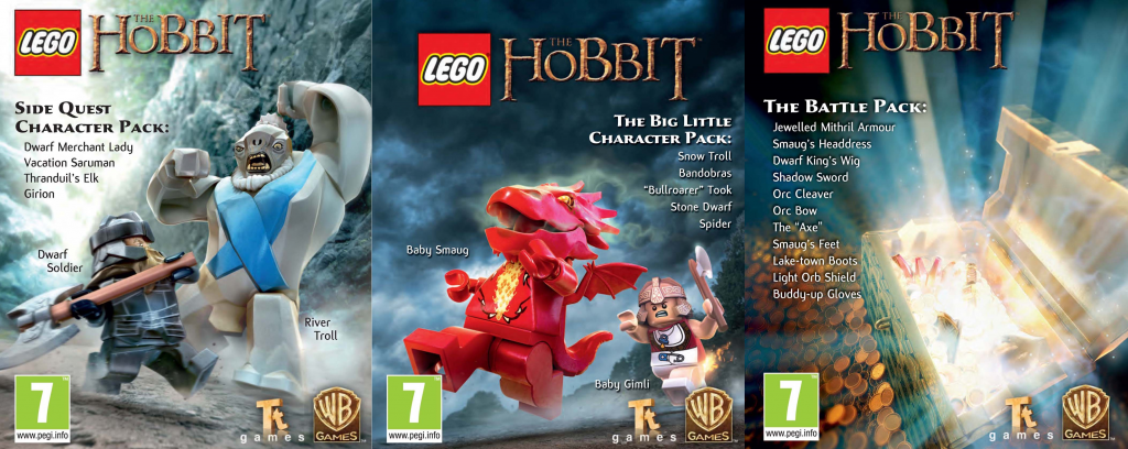 LEGO The Hobbit adds three new DLC packs - Lego The Hobbit DLC