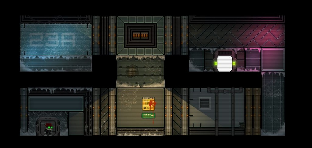 Stealth Inc 2 Coming to WiiU - Tiles zone 2 testchamber b