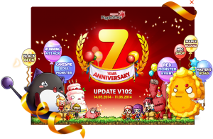 MapleStory celebrates its 7th anniversary in style with special patch and events