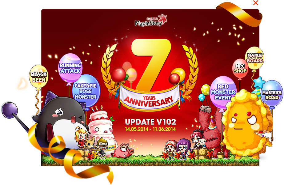 MapleStory celebrates its 7th anniversary in style with special patch and events - maplestory