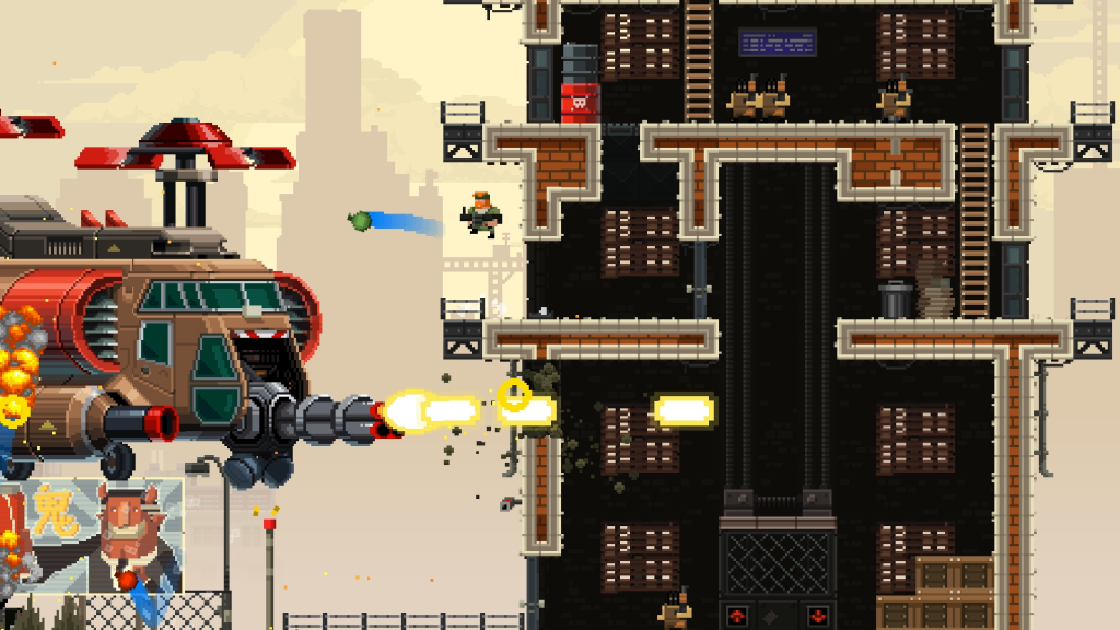 Celebrate the 4th of July like a true bro with 33% off Broforce - Broforce Braddock   Screen 2