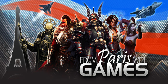 FULL STEAM AHEAD FOR A FABULOUS VIDEO GAMES OFFER FROM PARIS! - From Paris with Games