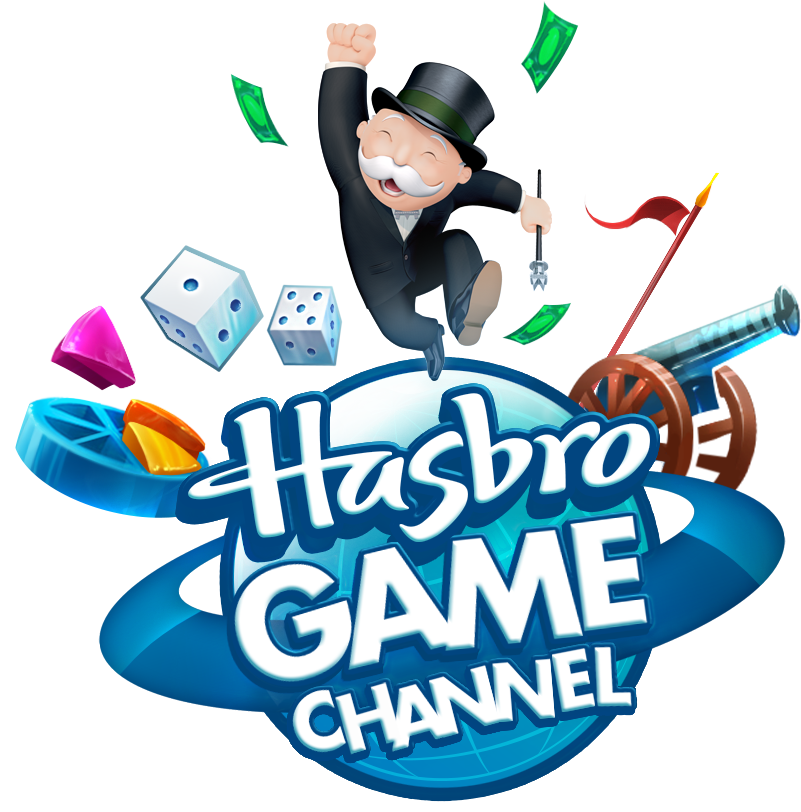 HASBRO AND UBISOFT® INTRODUCE NEW DESTINATION FOR GAMING WITH THE HASBRO GAME CHANNEL  - Logo Hasbro Game Channel EMEA RVB