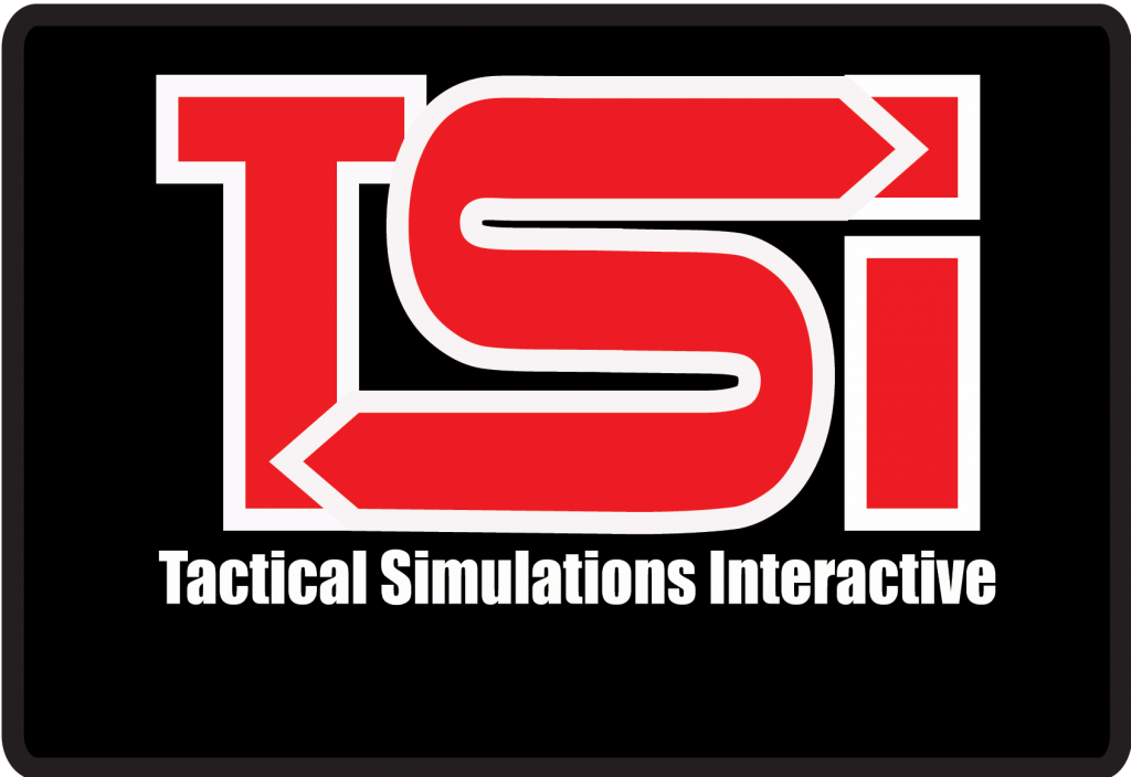 Introducing TSI – Tactical Simulations Interactive - TSI red on black