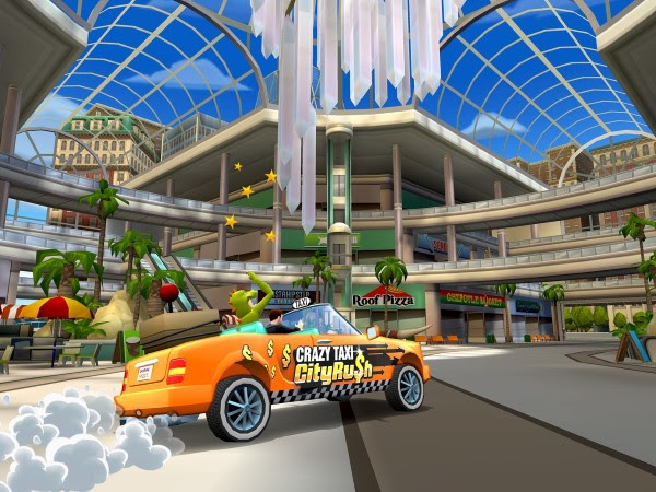 Crazy Taxi: City Rush Goes Full Speed Ahead, Android Version Available Today - crazy taxi city rush
