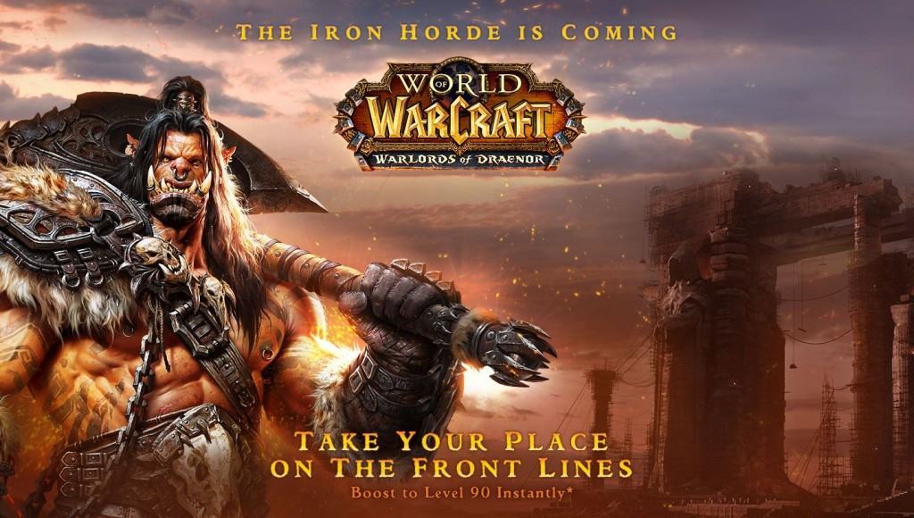 THE INVASION OF THE IRON HORDE HAS BEGUN:  WARLORDS OF DRAENOR™ PRELAUNCH PATCH NOW LIVE - bg 1440