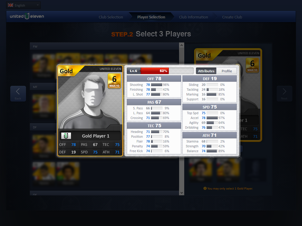 United Eleven Scores with New Content Update - united eleven new club creation
