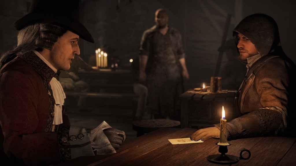 Assassin's Creed® Unity - Dead Kings Free DLC Now Available - 18 ACU DK Screenshot Tavern Marquis de Sade Final1