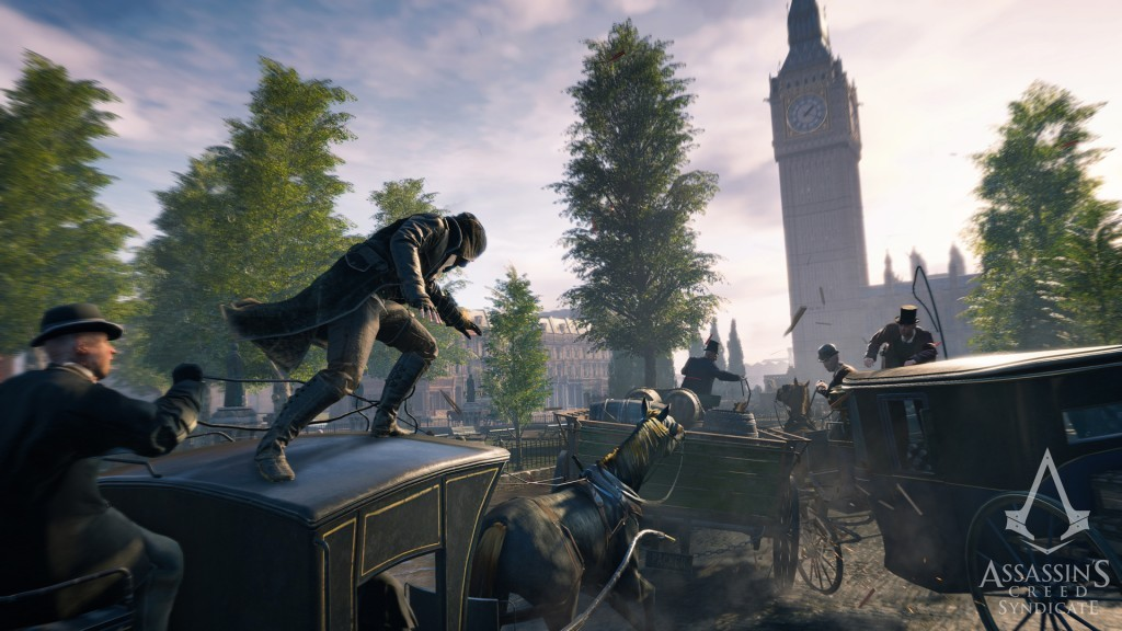 Liberate Victorian London From Oppression In Assassin's Creed Syndicate - ACS Screen Nav Vehicules wm 20150512 1830cet