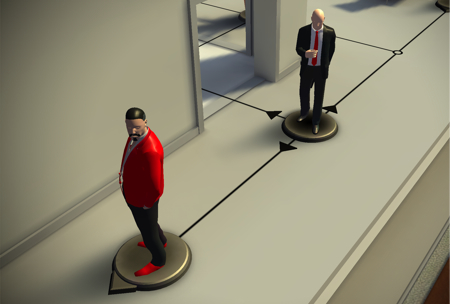 RedKazan Reviews: 'Hitman GO' (PS4) - hitmangameplay